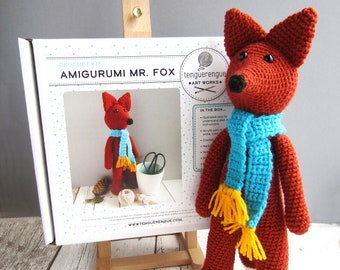 Crochet kit: Amigurumi Mr. Fox