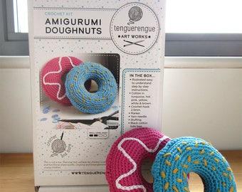 Crochet kit: Amigurumi Doughnuts