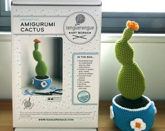 Crochet kit: Amigurumi Cactus