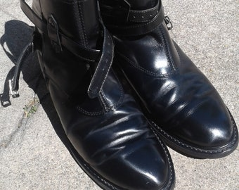 corcoran tanker buckle dress boots size 9