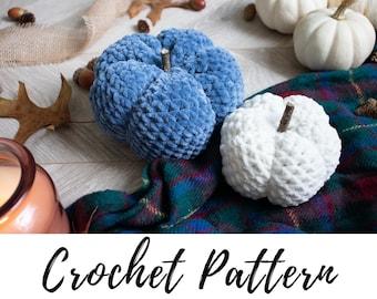 Crochet Pumpkin Pattern, Crochet Fall Decor Pattern, Crochet Pattern, Crochet Home Decor Pattern
