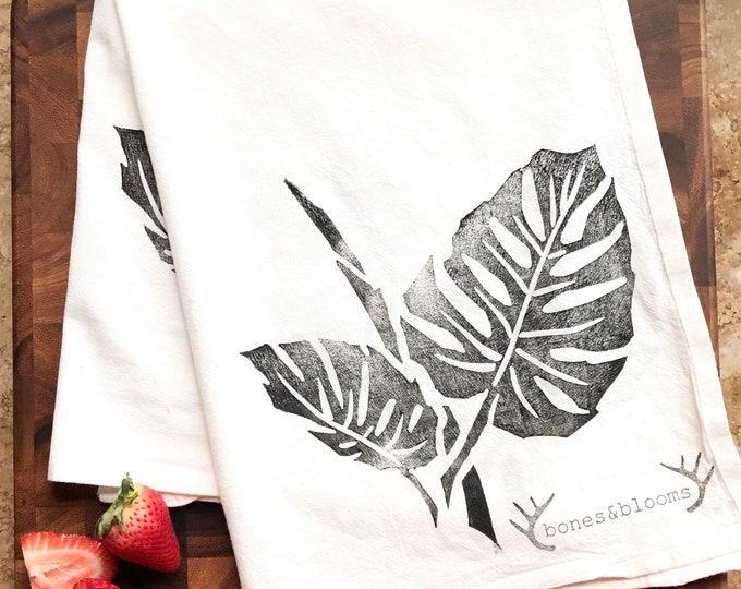 Monstera Tea Towel