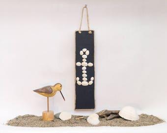 Sea Shell Anchor Sign
