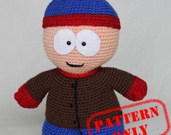 PATTERN ONLY! Stan Marsh South Park crochet pattern
