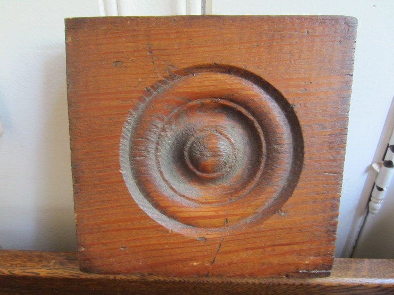 Vintage Wood Architectural Salvage Wood Salvage Piece Wood Etsy