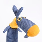 Sock doll, Peter plushie toy, soft toy, cotton plush, handmade toy