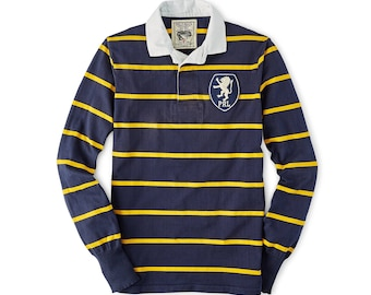 bc123895e7ee3 Polo Ralph Lauren long sleeves rugby classic fit Vintage style NOS