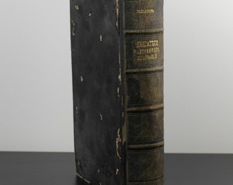 Antique c.1907 Gas, oil and other internal combustion engines Russian Tsar Empire book Gyuldner G.