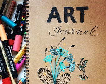 art book, art journal -  A5 or A4