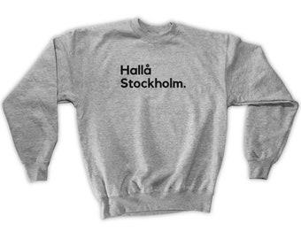 Fly Stockholm Sweatshirt Stockholm Sweden Shirt ARN Airport Men S M L XL 2x