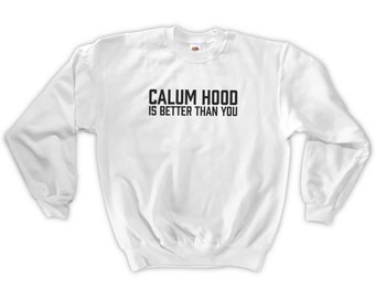 cdb30aad1f75 Calum Hood Is Better Than You Sweatshirt - Unisex S M L XL