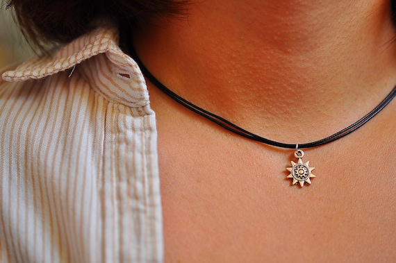Silver Choker Stars Necklace With Extension Chain X/'Mas Charm UK Gift