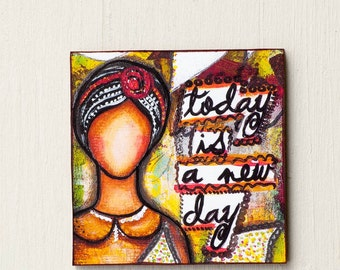 Handmade Todays A New Day Etsy