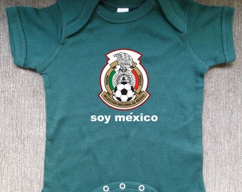 a882495c7 mexico baby soccer jersey