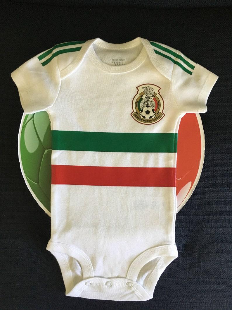 4b34f1772 Mexico baby soccer jersey | Etsy