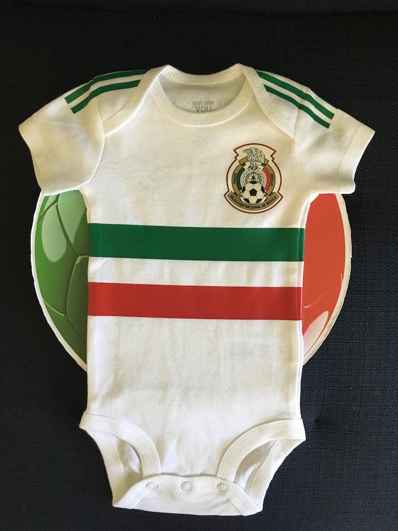 d7e0bcbd904c Mexico baby soccer jersey