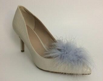 3e71d72c7ffe0 Pom pom shoe clips | Etsy