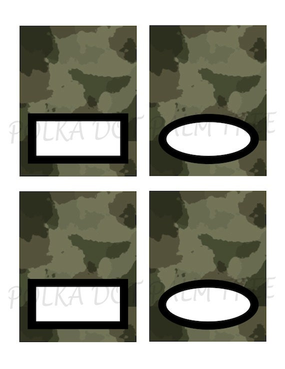 graphic regarding Camo Printable identified as Instantaneous Obtain Printable Eco-friendly Camo Camouflage Tented Menu Playing cards Standing House Playing cards Birthday Celebration Decor Meals Labels