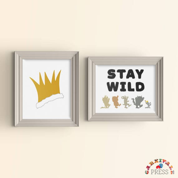 Monster Where the Wild Things Are Baby Room Nursery Playroom   Etsy