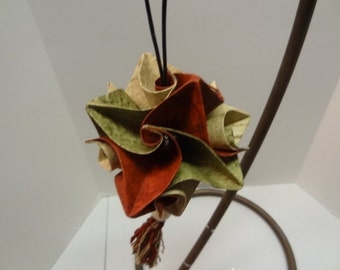 Handmade Origami made with Recycled Materials