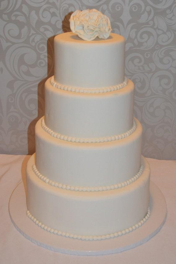 Vier Etagen Fondant Faux Hochzeitstorte Fake Hochzeitstorte Faux Hochzeitstorte Fondant Hochzeitstorte Fondant Kuchen