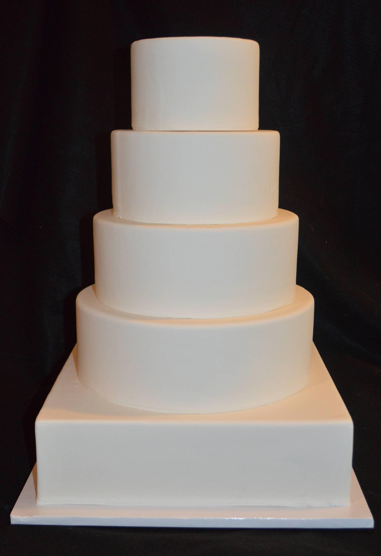Funf Tier Fondant Dummy Kuchen Gefalschte Hochzeitstorte Etsy