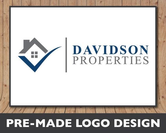 Construction Company Logo Real Estate Logo Realtor Logo Etsy