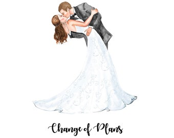 Postponed Wedding, Wedding Postponement, Change of Plans Announcement, Printable or Digital, Customized Postponed Wedding, Digital Download