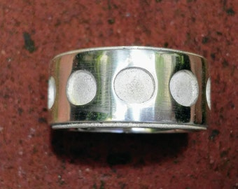 Sterling Silver Medieval Ring (heavy)