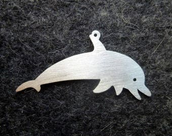 Silver Dolphin Earrings