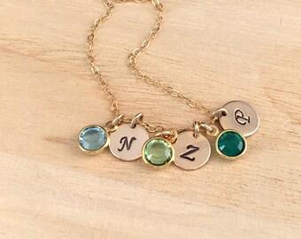Upgrade to 4 stones necklace for debra