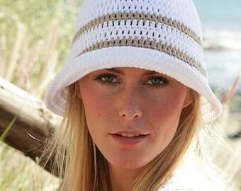 Handmade Cotton croshet hat, choose your colors