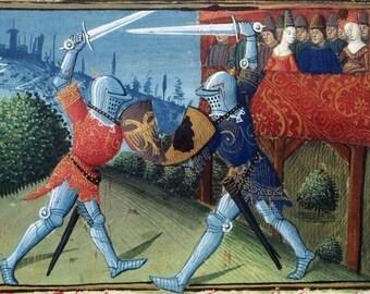 Fully lined Lancelot novel