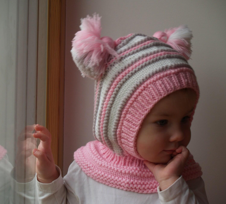 14806cc85bf3 Cagoule laine de mérinos bébé   Sweat à capuche fille chapeau   Etsy