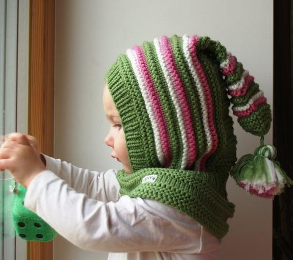 Hand knitted cashmere /& laine bébé chapeaux 3-6 mois