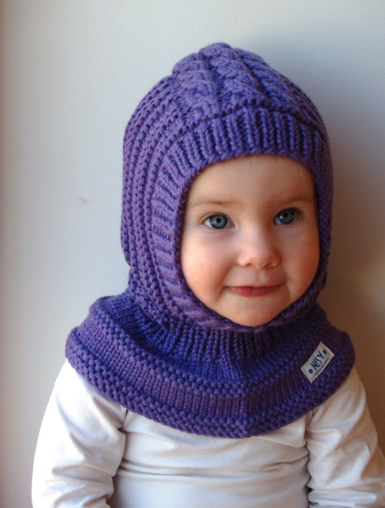 Merino Wool Balaclava Baby  Toddler  Children Hoodie hat  6cd1fcf8f65