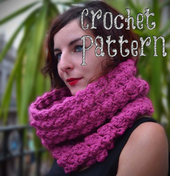 PATRON A CROCHET / Cuello a Crochet / Punto Ondulado / | Etsy