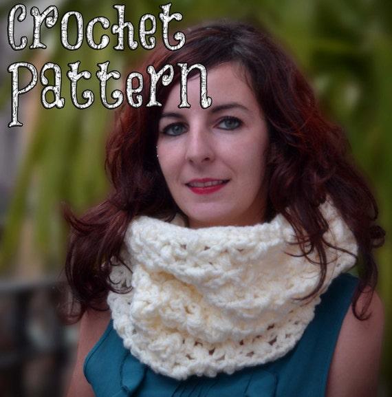 PATRÓN DE CROCHET / Maxi Cuello a Crochet / Puntada Estrella | Etsy