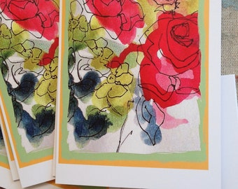 Greeting Card Print from Original Art 'We Must | Etsy