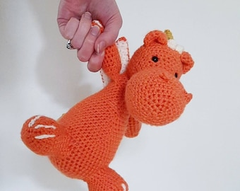 Crochet Dragon Kit - DIY amigurumi pattern and kit