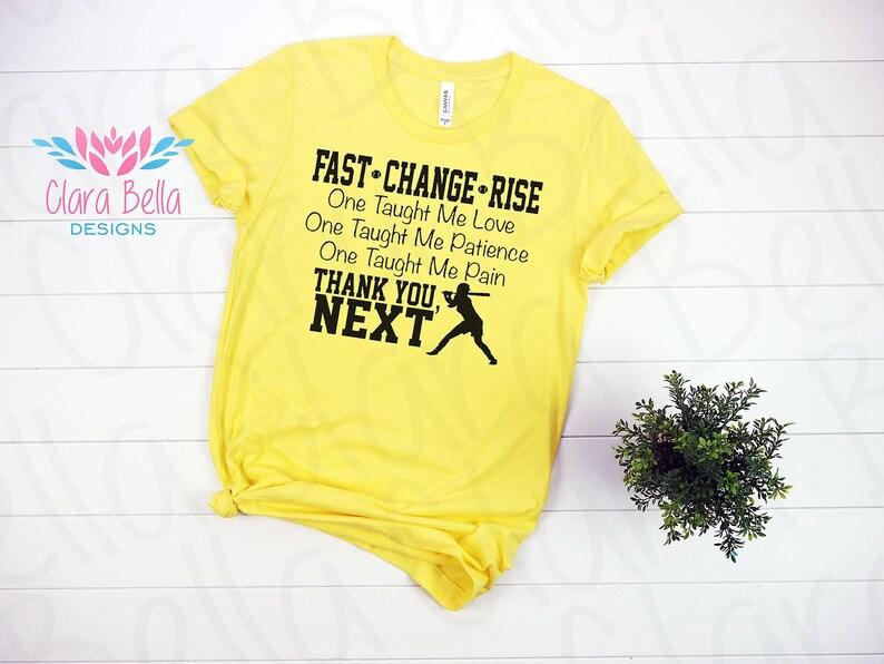 0cb96e5c Thank You Next Softball Shirt Softball Mom Dad T-Shirt | Etsy