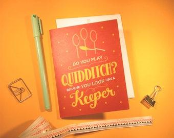 Quidditch Card
