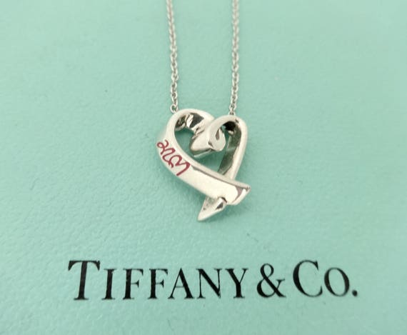 f01d04921 SALE Authentic Tiffany & Co. Paloma Picasso Graffiti Sterling | Etsy