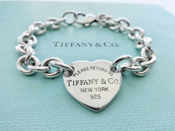 c396749c9d3 Authentic Tiffany and Co. Sterling Silver Please Return to