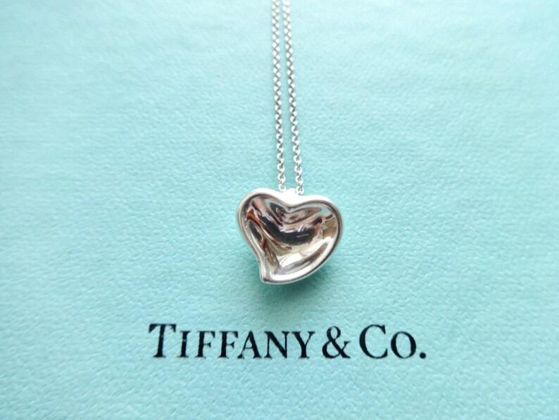 84534bf92 Authentic Tiffany & Co. Elsa Peretti Vintage Sterling Silver | Etsy