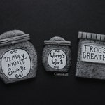 Nightmare before Christmas Jars. Sally's Jars. Jack Skellington. Tim Burton decoration. Deadly nightshade jar. Disney. halloween. decor.