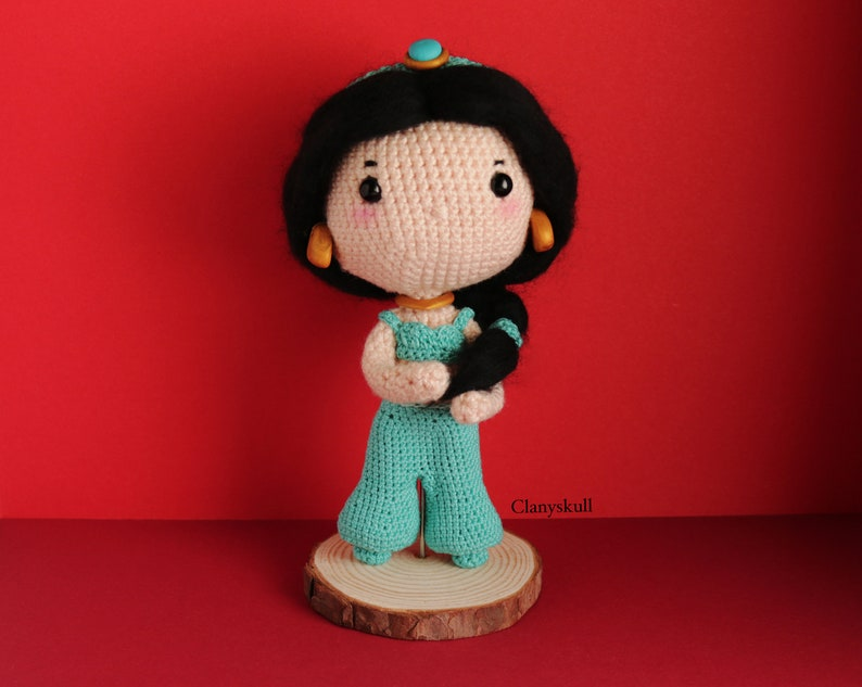 Amigurumi Jasmine. Amigurumi Aladdin. Amigurumi princess image 0