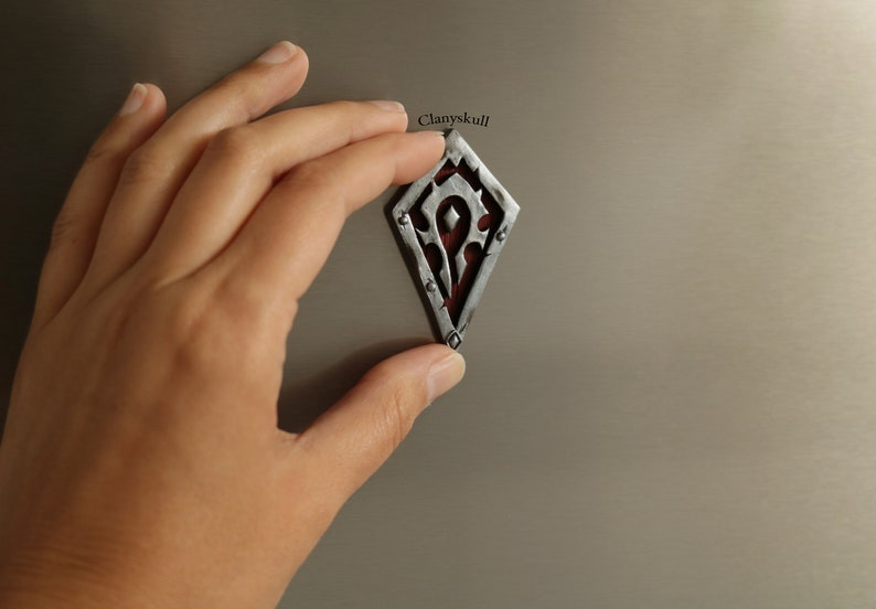 Horde magnet. Wold of warcraft. WoW. Wold of warcraft magnet. image 0