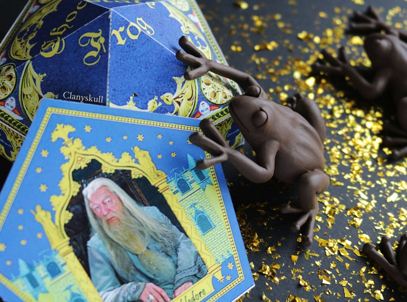 Chocolate frogs. Harry Potter. Chocolate frogs magnets. image 0