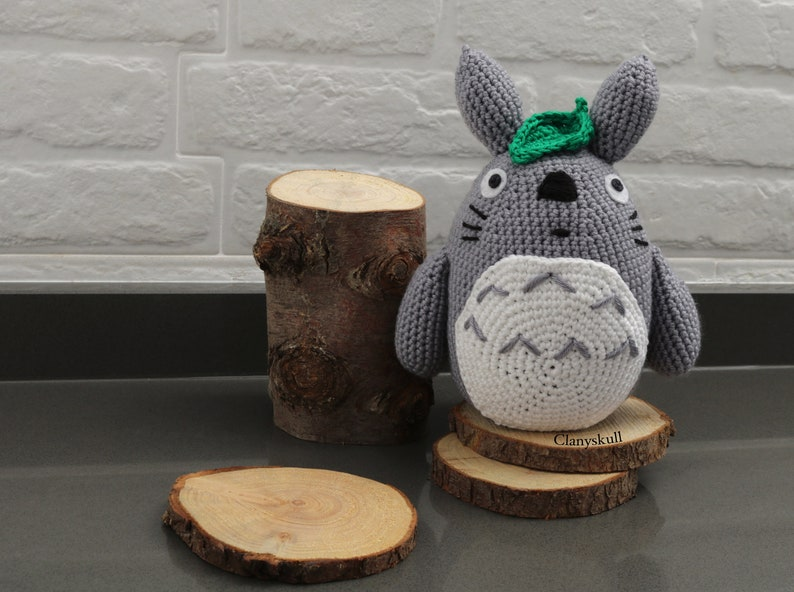 Totoro amigurumi. Totoro. Amigurumi. Studio Ghibli amigurumi. image 0